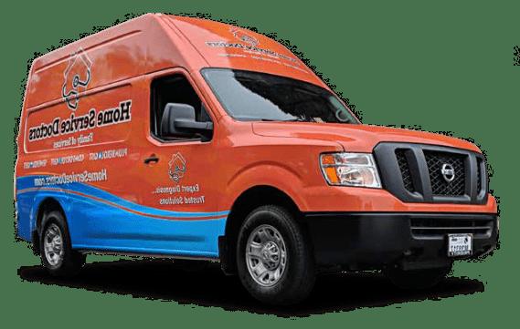 Home Service Doctors Truck